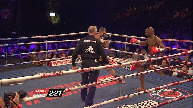Enfusion #22  Cedric Bacuna  (CUW)  vs  Andrei Ostrovanu  (ROU) 23.11.2014