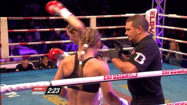 Enfusion  #32  Anke Van Gestel (BEL) vs Aleide Lawant (NLD) 10.10.2015