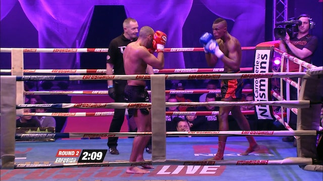 Enfusion #35  Nordin Ben Moh (MAR) vs Crice Boussoukou (FRA) 19.12.2015