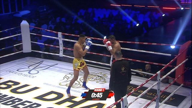 Enfusion #59 Mohamed Khamal (MAR) vs Endy Semeleer (NLD) 08.12.2017