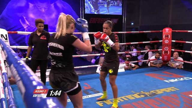Enfusion #29  Rachel Adamus (NLD) vs Sheena Widdershoven (NLD) 23.05.2015