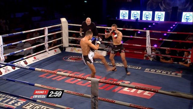 Enfusion  #21  Mark Vogel (DEU) vs  Ilias Bulaid (MAR) 04.10.2014