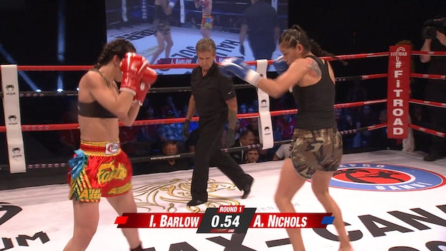 Enfusion #51 Iman Barlow (GBR) vs Ashley Nichols (CDN) 08.07.2017