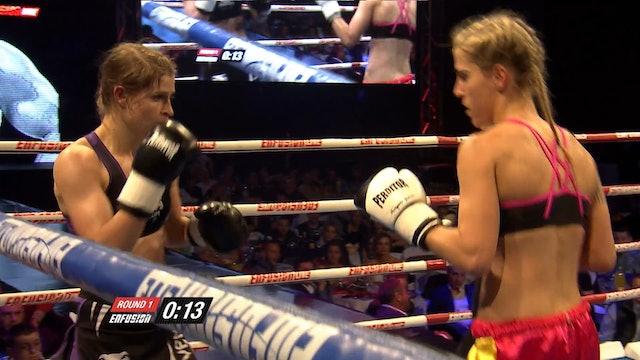 Enfusion #28  Lucia Krajcovic (SVK) vs Marina Zueva (RUS) 25.04.2015