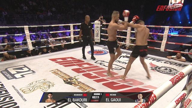 Enfusion #90 Hicham El Gaoui (MAR) vs Boubaker El Bakouri (MAR) 02.11.2019