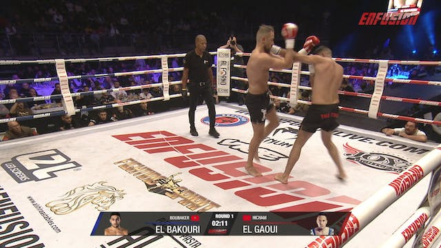 Enfusion #90 Hicham El Gaoui (MAR) vs...