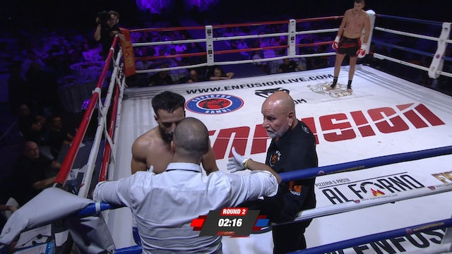 Enfusion#70  Filip Verlinden (BEL) vs Mohamed El Moussaoui (MAR) 15.09.2018