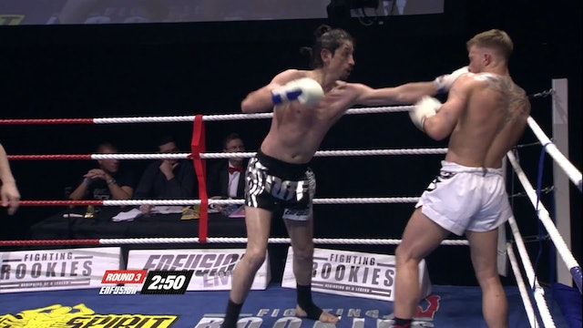 Enfusion #06  Charlie Peters (GBR) vs Meletis Kakabouvas (GRE) 29.05.2013