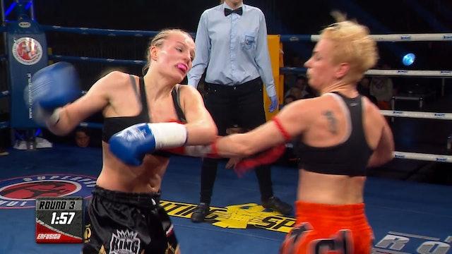 Enfusion #04  Ilona Wijmans (NLD) vs Nevenka Mikulic (HRV) 13.04.2013