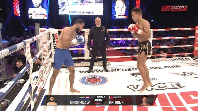 Enfusion #91  Lorenzo Geurink (IDN) vs Bahez Khoshnaw (NLD) 16.11.2019