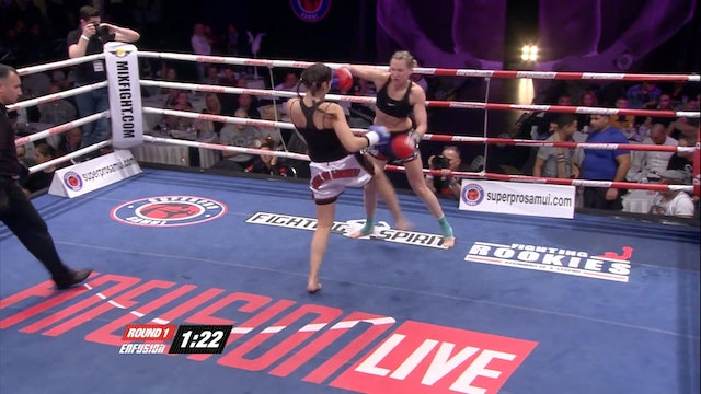 Enfusion Live #14 Vicky Church (GBR) vs Rachida Bouhout (NLD) 22.02.2014