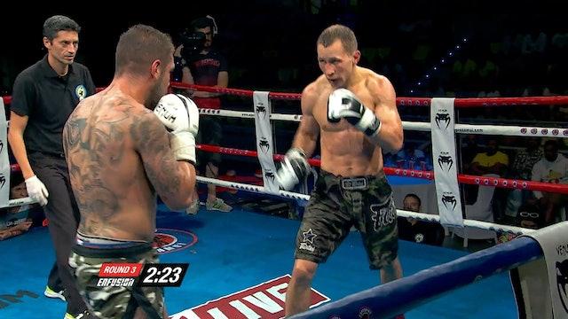 Enfusion #40 Jonay Risco (ESP) vs Dzianis Zuev (BLR) 04.06.2016