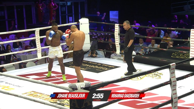 Enfusion #76  Mohammad Ghaedibardeh (IRN) vs Johanne Beausejour (FRA) 07.12.2018