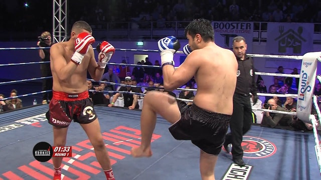 Rookies -  IBrahim El Boustati (MAR) vs Rushand Moradi (AFG) 29.11.2014