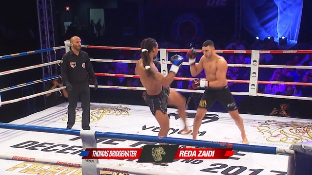 Enfusion #57 Reda Zaidi (MAR) vs Thomas Bridgewater (NLD) 02.12.2017