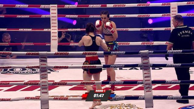 Enfusion #82  Iman Barlow (GBR) vs Delphine Guenon (FRA) 13.04.2019