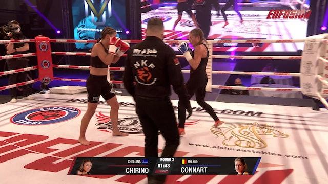 Enfusion #98 Helene Connart (BEL) vs Chellina Chirino (CUW) 03.10.20