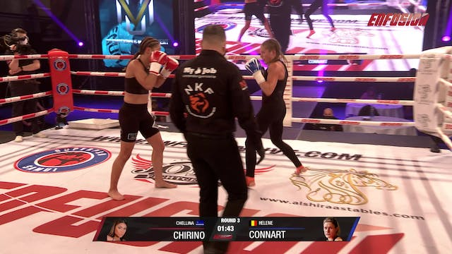 Enfusion #98 Helene Connart (BEL) vs ...
