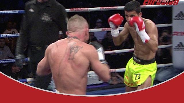 Enfusion #13 Hamza Ahnine (MAR) vs Pietje Heesbeen (NLD) 25.01.2014