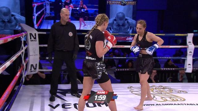 Enfusion #47 Sheena Widdershoven (NLD) vsKatrin Dirheimer (DUE) 18.03.2017