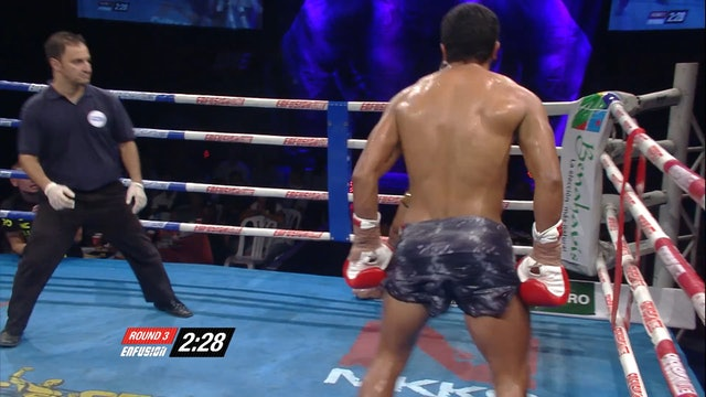 Enfusion  #31  Christopher Mena  (COL) vs Beau Superpro Samui  (THA) 19.09.2015