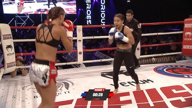 Enfusion #69  Sarél de Jong (NLD) vs Chellina Chirino (CUW) 23.06.2018