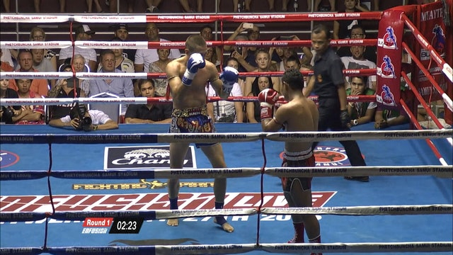 Enfusion #36 Saenchai PK Saenchaimuaythai (THA) vs Victor Conesa(ESP) 06.02.2016