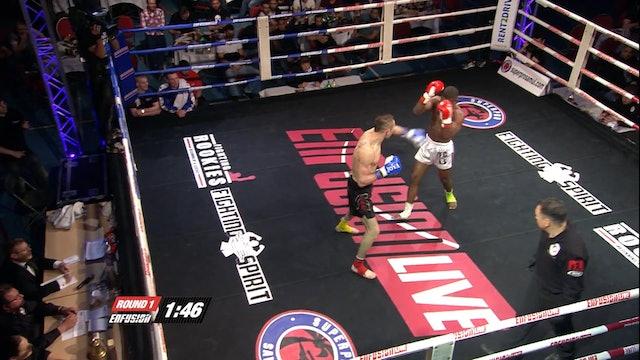 Enfusion  #16 Paolo Renna (SUR) vs Reda Narain (SUR) 05.04.2014