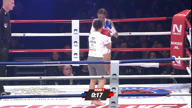 Enfusion #46 Samantha van Doorn(NLD) vsGeorgina Van Der Linden (NLD) 18.02.2017