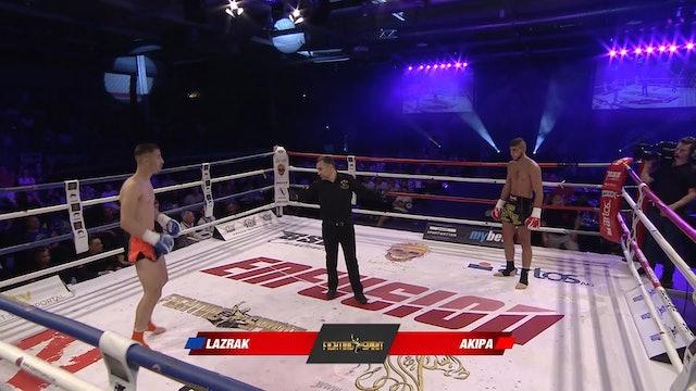 Enfusion #64  Cihad Akipa (DEU) vs Mohammed Lazrak (MAR) 21.04.2018