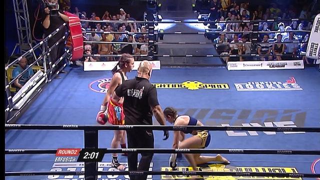 Enfusion  #07 Iman Barlow (GBR) vs Eva Naranjo (ESP) 13.07.2013