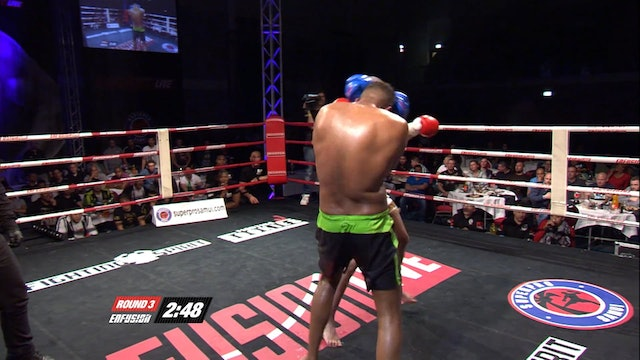 Enfusion  #16 Sam Tevette (SEN) vs Mohamed Boubkari (MAR) 05.04.2014