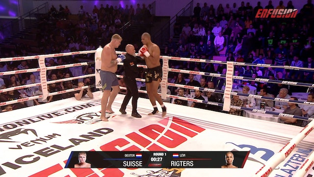 Enfusion #88  Levi Rigters (NLD) vs Dexter Suisse (NLD) 05.10.2019