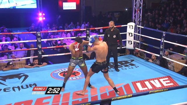Enfusion #44  Yassin Baitar (BEL) vsRedouan Laarkoubi (NLD) 03.12.2016