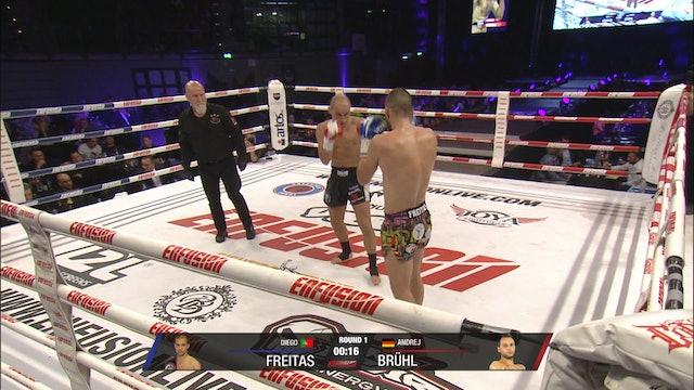 Enfusion #89 Diego Freitas (PRT vs Andrej Bruhl (DEU) 26.10.2019