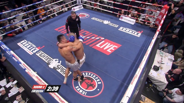 Enfusion #14  Khalid Bourdif (MAR) vs Willam Diender (NLD) 22.02.2014