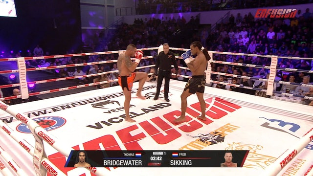 Enfusion #88  Fred Sikking (NLD) vs Thomas Bridgewater (NLD) 05.10.2019