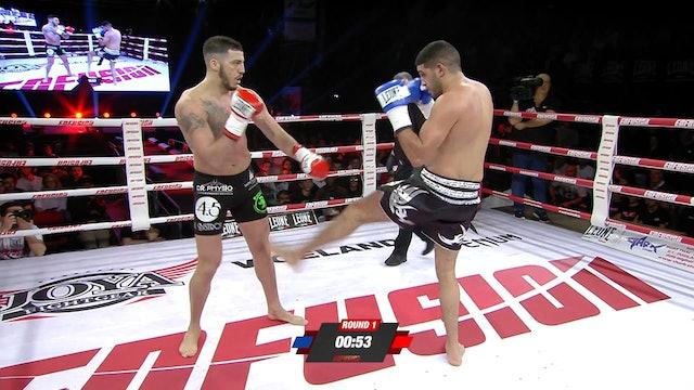 Enfusion #80 Boubaker El Bakouri (MAR) vs Mattia Faroani (ITA) 23.03.2019