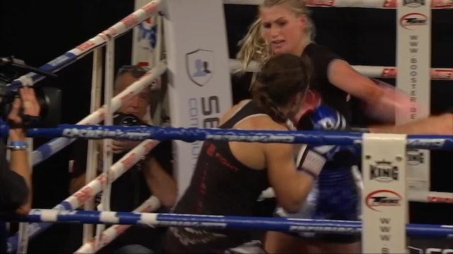 Enfusion Contracted Fighter Sheena Widdershoven Promo