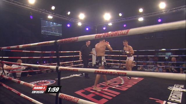 Enfusion #19 Ilias Bulaid (MAR) vs Regis Sugden (GBR) 29.06.2014