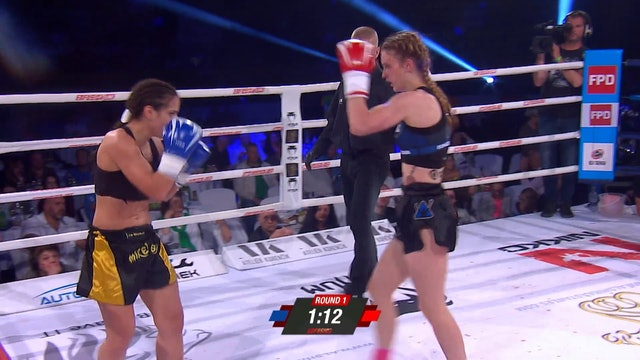 Enfusion #65  Monika Chochliková (SVK) vs Catia Batista (PRT) 28.04.2018