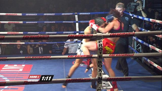Enfusion #08 Iman Barlow (GBR) vs Filipa Correia (PRT) 12.10.2013