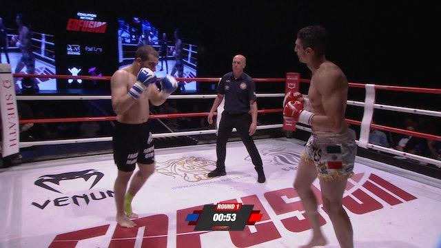 Enfusion #68  Juan Cervantes (MEX) vs Mehdi Fassal (FRA) 09.06.2018