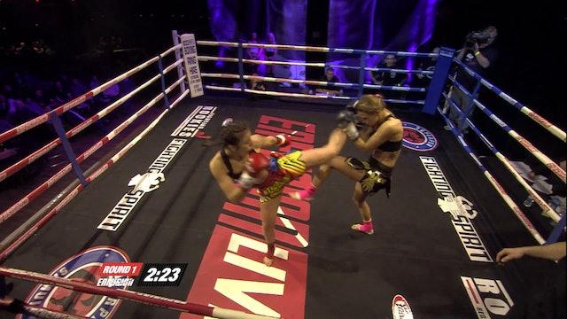 Enfusion #11 Iman Barlow (GBR) vs Marina Zueva (RUS) 01.12.2013
