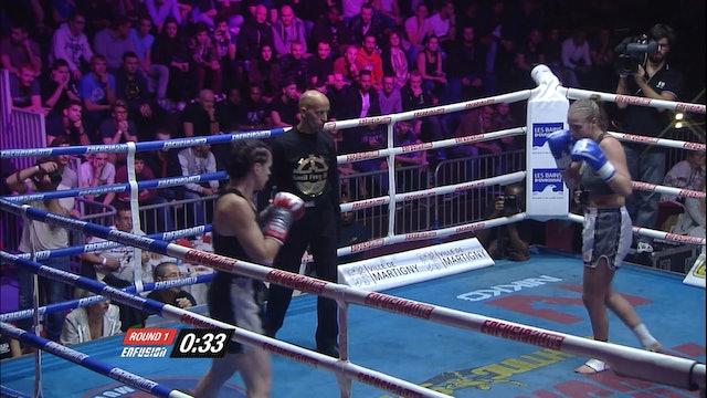 Enfusion  #33  Janique Avanthay (CHE) vs Amandine Falck (FRA)  07.11.2015