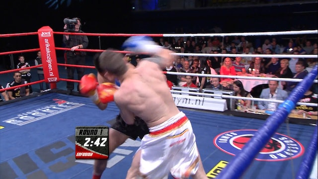 Enfusion #05 Angelo Wilkes (NLD) vs Amansio  Paraschiv (ROU) 11.05.2013