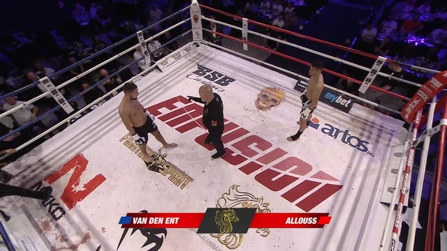 Enfusion #64 Karim Allouss (MAR) vs Regilio van den Ent (NLD) 21.04.2018