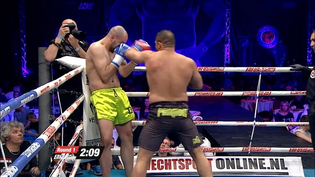 Enfusion #34 Kamran Aminzade (IRN) vs Mohamed Boubkari  (MAR) 21.11.2015
