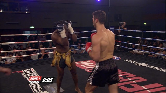 Enfusion #19  Andrew Tate (USA) vs Wendell Roche (NLD) 29.06.2014