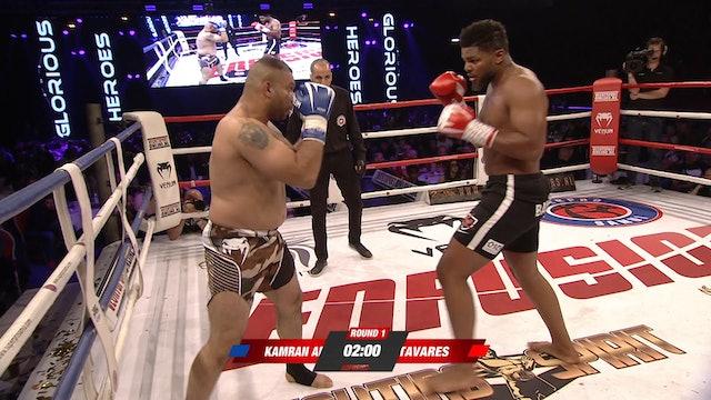 Enfusion #69 Luis Tavares (NLD) vs Kamran Aminzade (IRN) 23.06.2018